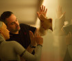 Alex Garland on the set of 'Ex Machina""