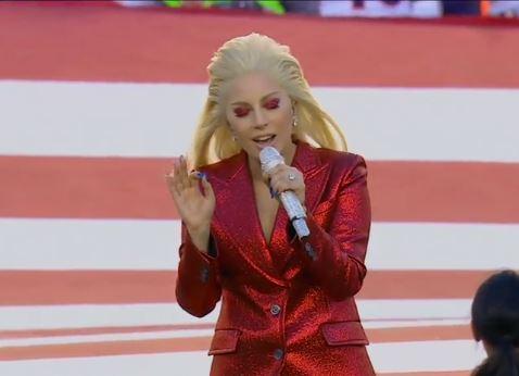 Super Bowl 50: Lady Gaga