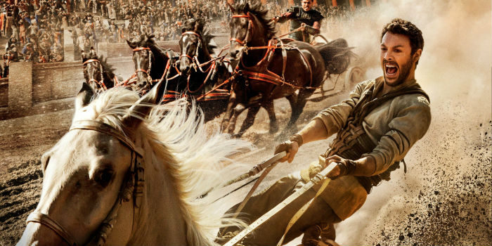 Jack Huston in Ben Hur Movie Preview August 2016
